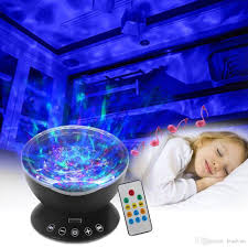 Light Projector For Kids Room by 2017 Remote Control Ocean Wave Projector With 12 Led U0026 Night Light