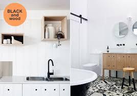 black faucets kitchen black bathroom fixtures bathrooms
