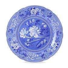 spode blue room dresser plate botanical spode uk our blue