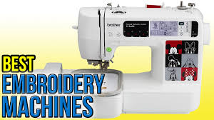 Best Sewing Table by 8 Best Embroidery Machines 2016 Youtube