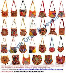 Handicraft Home Decor Items Indian Embroidery Handbags Hnbag1d Megh Craft