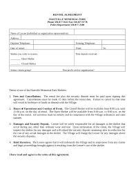 Cost Of Rent by Rental Agreement Free Rental Lease Agreement Form