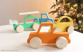 Scrap Wood Projects Plans by Wood Push Car Truck And Helicopter Toys Knock Off Wood Ana