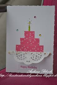 happy birthday handmade 28 images 67 best images about card
