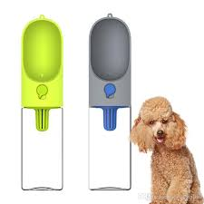 Best 400ml Portable Pet Dog Water Bottle Filter Travel Cups Drinking