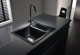 Kitchen Sink Black Modern Minimalist Black Kitchen Sink Kitchenidease