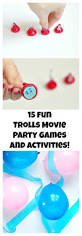 trolls party games and activites movie party party games and