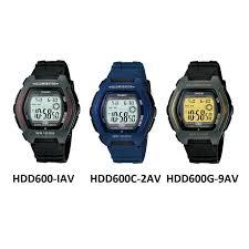 Negara Pembuat Jam Tangan Casio jam tangan casio digital hdd600 series elevenia