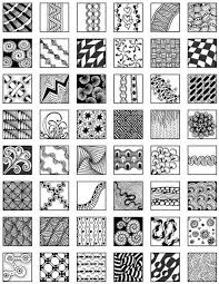 zentangle patterns for beginners images pinteres