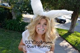 halloween costumes for bunny rabbits quickie dust bunny costume by mr kate youtube