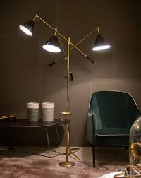 chic torchiere modern contemporary floor lamps modern