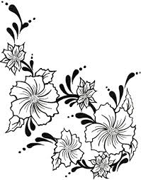hibiscus tattoo sketch in 2017 real photo pictures images and
