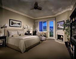 peinture mur chambre coucher decoration chambre coucher peinture murale couleur grise cheminee