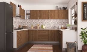 u shaped kitchen design with island basic and budget u shaped kitchen designs simple shape modular