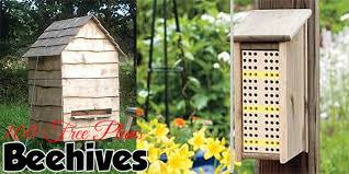 beehive plans wooden hives honey extractors observation hives