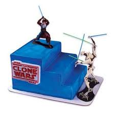 star wars clone wars cake decorating kit amazon co uk kitchen
