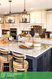 brown granite countertop country french kitchens decorating idea