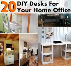 Diy Home Desk 20 Diy Desks That Really Work For Your Home Office Diy Home Things