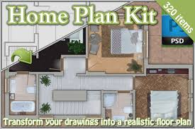 design your home realistic 3d free home plan kit product mockups creative market
