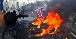 Israel Flag For Sale Palestinians Israelis Clash After Trump Recognizes Jerusalem As