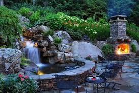 100 landscaping waterfall ideas large waterfall design moss