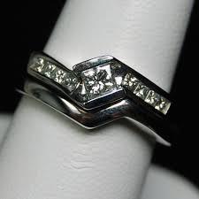 wedding trio sets wedding rings two wedding ring sets mens white gold