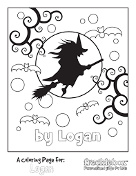 Fun Halloween Coloring Pages 2013 October