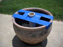 Patio Umbrella Holder by How To Make Sturdy Umbrella Stands For Under 15 Pipes Backyard
