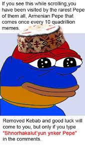 Armenian Memes - armenian pepe by sergios117 on deviantart