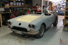 1961 corvette project for sale corvette project