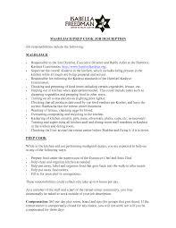 what is a chef de cuisine description transform resume sle for chef de partie with additional chef