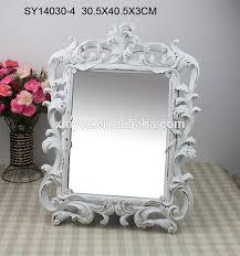 polyresin hotel baroque adjustable bathroom mirror frame buy