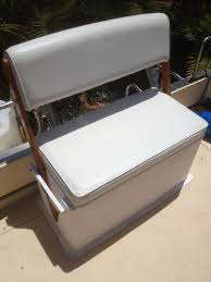 todd swivel back bench seat cooler bait tank bloodydecks