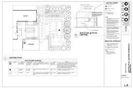 Landscape Lighting Plan Portland Landscape Design Seasons Garden Design Services