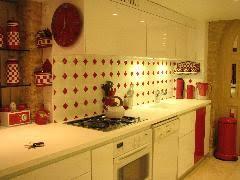 faience de cuisine faience cuisine damier et blanc en octogone de 13x13 http