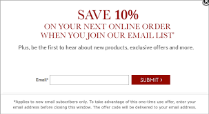 Pottery Barn E Commerce Create A Pop Up Design Like Pottery Barn