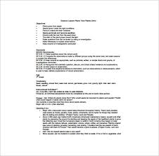kindergarten lesson plan template u2013 11 free sample example