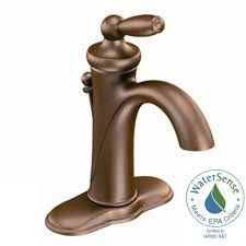 Single Handle Bathroom Sink Faucet by High Arc Bronze Moen Single Handle Bathroom Sink Faucets