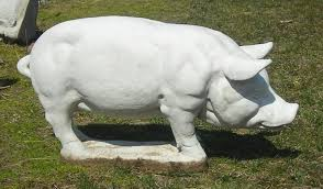 pig garden statue the gardens