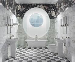 8 best dark floral bathroom images on pinterest beautiful