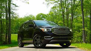 jeep car 2017 redesigned 2017 gmc acadia goes on a diet consumer reports