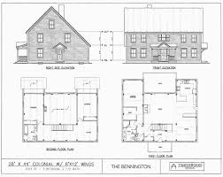 colonial home plans post beam house plans and timber frame drawing packages by
