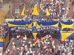 boston convention and visitors bureau boston marathon finish line boston marathon finish line flickr
