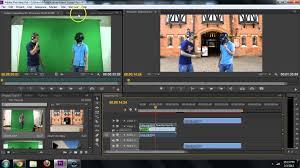 adobe premiere how to remove green screen chroma key remove