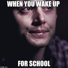 Supernatural Memes - crying supernatural memes imgflip