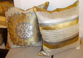 decor ivory and gold throw pillows for intersing home accessories