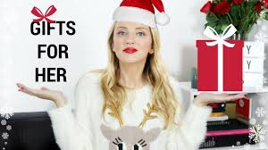 gifts for her christmas gift guide paula holmes youtube