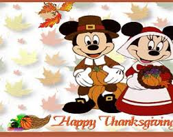 mickey mouse thanksgiving favor bags with handles set