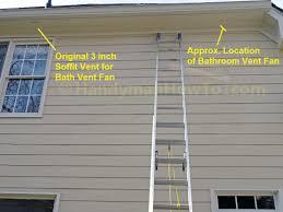venting exhaust fan through roof install bathroom ventilation through roof bathroom designs