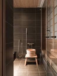 Ceramic Tile Bathroom Designs Ideas by Best 25 Black Tile Bathrooms Ideas On Pinterest Black Subway